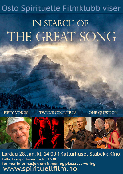 In Search of the Great Song DVD Poster Image