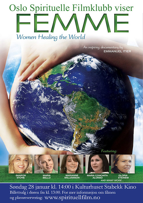 Femme Women Healing the World DVD Poster Image