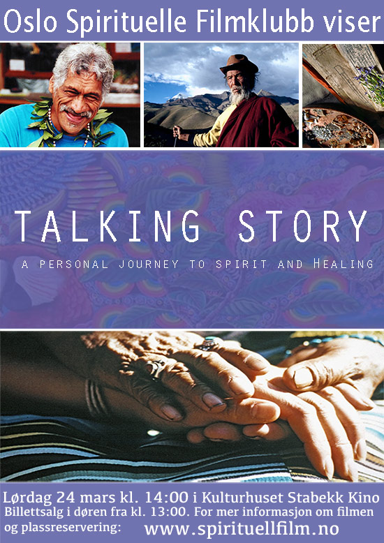 Talking Story: A personal Journey into Spirit and Healing.   plakat
